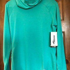 Women's light hoody cover up.